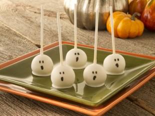 Ghost Cake Pops  CANDIQUIK